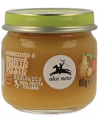 Alce Nero Omogeneizzato di Frutta Mista Biologico - 100% frutta italiana Omogeneizzati