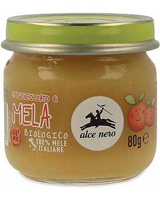 Alce Nero Omogeneizzato di Mela Biologico – 100% frutta italiana Omogeneizzati