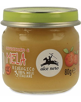 Alce Nero Omogeneizzato di Mela Biologico - 100% frutta italiana null