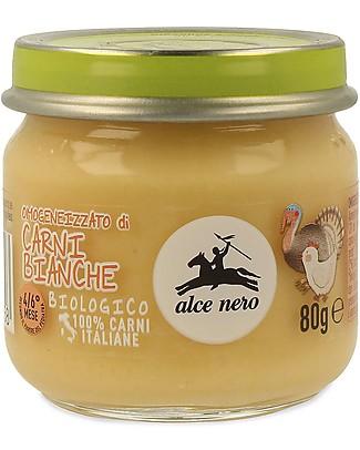 Alce Nero Omogeneizzato di Pollo, Tacchino e Verdure Biologico – 100% carne italiana Omogeneizzati