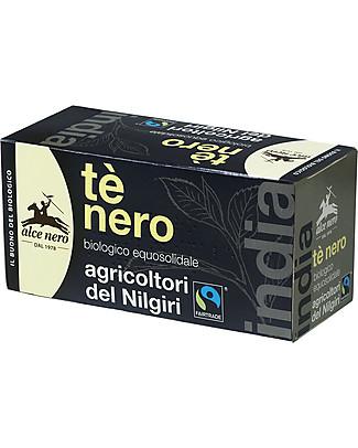 Alce Nero Tè Nero Biologico, Fair Trade – 20 bustine Tisane