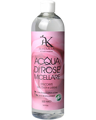 Alkemilla Bio Acqua di Rose Micellare - 500 ml Viso