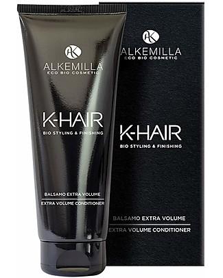 Alkemilla Bio Balsamo Extra Volume, K-Hair - 200 ml Bagno Doccia Shampoo