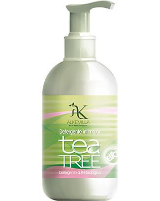 Alkemilla Bio Detergente Intimo, Tea Tree - 250 ml Sapone Intimo