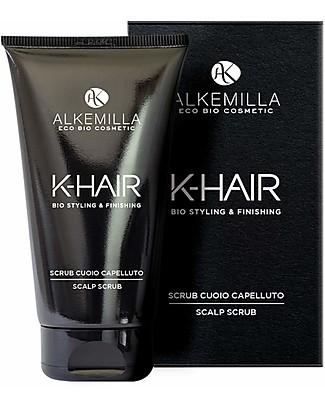 Alkemilla Bio Scrub Cuoio Capelluto, K-Hair - 150 ml Bagno Doccia Shampoo