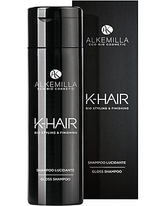 Alkemilla Bio Shampoo Lucidante, K-Hair - 250 ml Bagno Doccia Shampoo