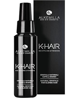 Alkemilla Cristalli Naturali Capelli Biondi, K-Hair - 50 ml Cura dei Capelli