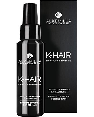 Alkemilla Cristalli Naturali per Capelli Rossi, K-Hair - 50 ml Cura dei Capelli