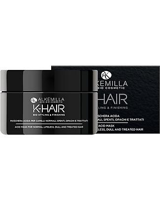 Alkemilla Maschera Capelli Acida, K-Hair - 200 ml Cura dei Capelli