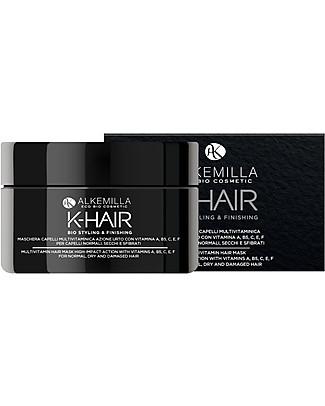 Alkemilla Maschera Capelli Multivitaminica, K-Hair - 200 ml Cura dei Capelli