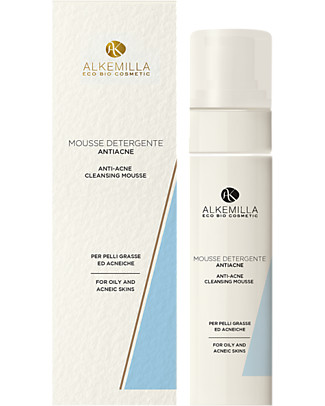 Alkemilla Mousse Detergente Anti-Acne - 150 ml Detergenza