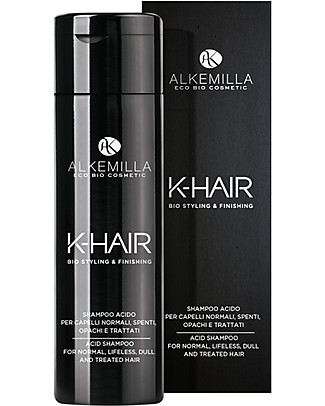 Alkemilla Shampoo a PH Acido per Restituire Vigore e Lucentezza, K-Hair - 250 ml Bagno Doccia Shampoo