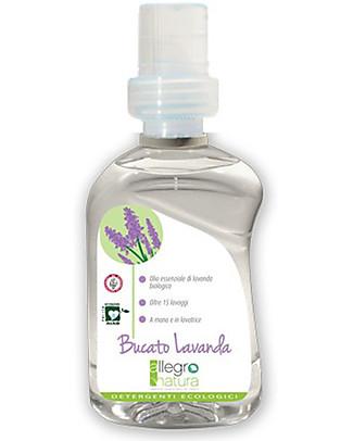 Allegro Natura Bucato Lavanda Bio, 500 ml - Per Bucato a Mano o in Lavatrice Detergenza