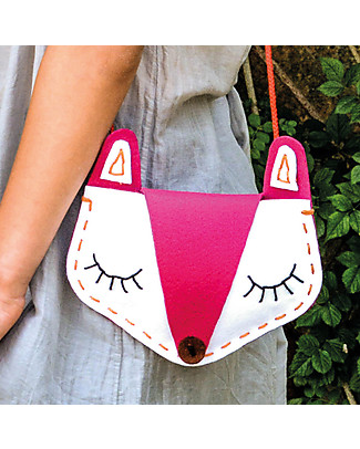 aPunt Barcelona Fox Bag Sewing Kit - Create and decorate your bag! Art & Craft Kits
