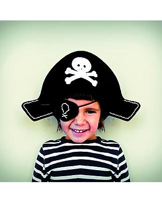 aPunt Barcelona Kit Cucito Pirata - Crea da solo cappello e benda da pirata! Kit Fai Da Te