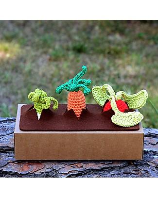 aPunt Barcelona Set Gioco Il Mio Primo Orto - Bello e Divertente! Pupazzi Crochet