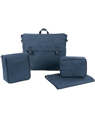 Bébé Confort Borsa Nursery Modern Bag, Nomad Blue - Ottima per il Cambio Bebè! Borse Cambio e Accessori