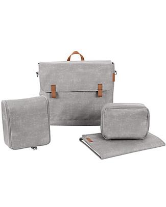 Bébé Confort Borsa Nursery Modern Bag, Nomad Grey - Ottima per il Cambio Bebè! Borse Cambio e Accessori