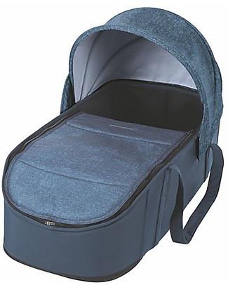 Bébé Confort Navicella Morbida Laika per Passeggini, Nomad Blue - Fino a 6 mesi,  Super Leggero! Carrozzine e Navicelle