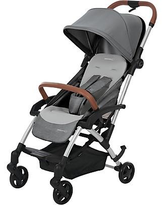 Bébé Confort Passeggino Laika2, Nomad Grey - Dalla Nascita Fino a 3,5 anni, per la Città Passeggini Leggeri