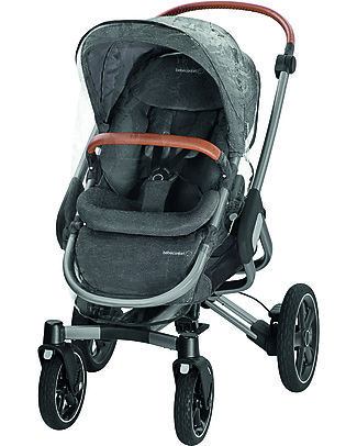 Bébé Confort Passeggino Nova 4 Ruote, Sparkling Grey - Fino a 3,5 anni, si chiude da solo! Passeggini