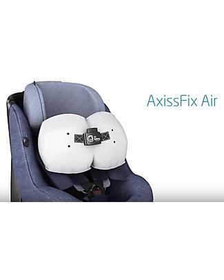 Bébé Confort Seggiolino Auto AxissFix Air Gruppo 1, Nomad Black - da 4 mesi a 4 anni, Migliore della Categoria Seggiolini Auto Bimbi Piccoli
