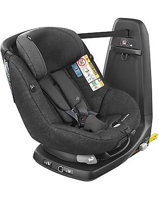 Bébé Confort Seggiolino Auto AxissFix Air, Nomad Black - da 4 mesi a 4 anni, Migliore della Categoria Seggiolini Auto