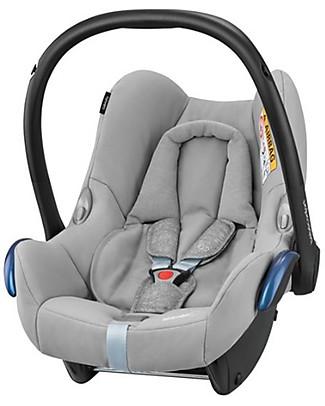 Bébé Confort Seggiolino Auto CabrioFix, Nomad Grey – Da 0 a 12 Mesi, Leggero e Sicuro! Seggiolini Auto