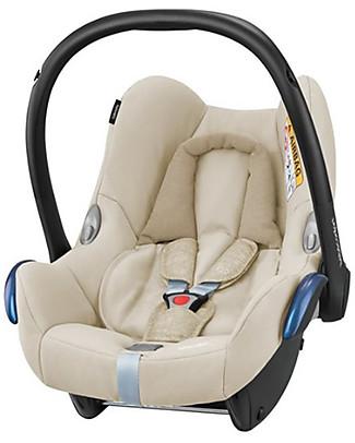Bébé Confort Seggiolino Auto CabrioFix, Nomad Sand – Da 0 a 12 Mesi, Leggero e Sicuro! Seggiolini Auto