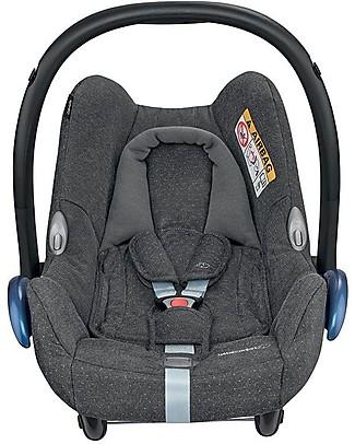 Bébé Confort Seggiolino Auto CabrioFix, Sparkling Grey - Da 0 a 12 Mesi, Leggero e Sicuro Seggiolini Auto per Neonati