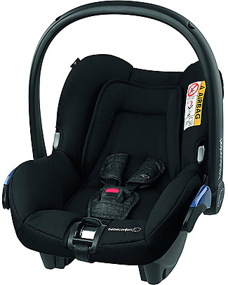 Bébé Confort Seggiolino Auto Citi, Nomad Black - Da 0 a 12 mesi, Omologato per Trasporto Aereo Seggiolini Auto