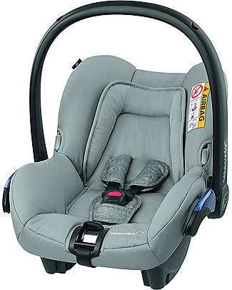 Bébé Confort Seggiolino Auto Citi, Nomad Grey - Da 0 a 12 mesi, Omologato per Trasporto Aereo Seggiolini Auto