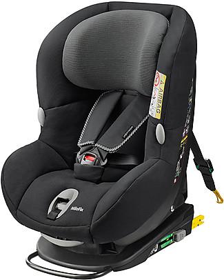 Bébé Confort Seggiolino Auto Convertibile 0+/1 MiloFix, Nero Corvino – dalla nascita a 4 anni! Seggiolini Auto