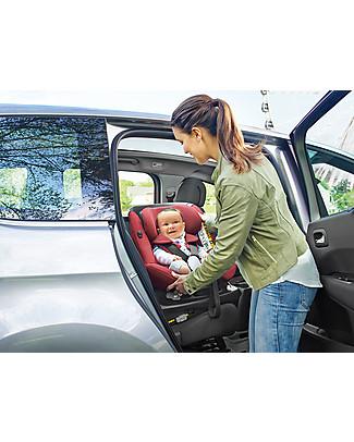 Bébé Confort Seggiolino Auto Girevole AxissFix, Gruppo 1+, Grigio brillante – Da 4 mesi a 4 anni Seggiolini Auto