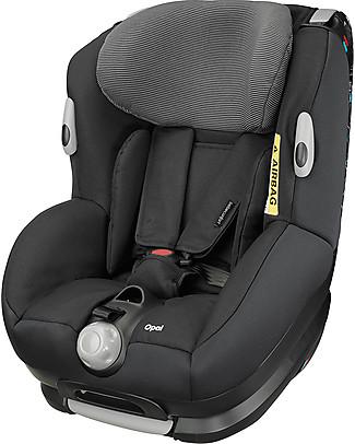Bébé Confort Seggiolino Auto Gruppo 0-1+ Opal, Black Raven - Da 0 a 4 anni! Seggiolini Auto