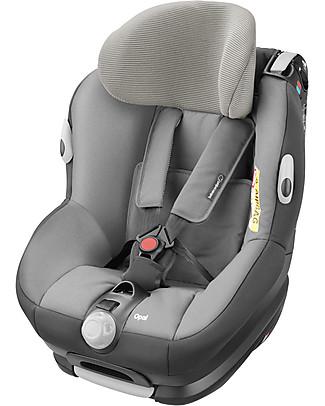 Bébé Confort Seggiolino Auto Gruppo 0/1+ Opal, Concrete Grey – Da 0 a 4 anni! Seggiolini Auto
