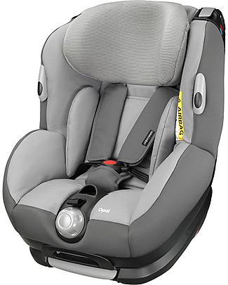 Bébé Confort Seggiolino Auto Gruppo 0-1+ Opal, Concrete Grey - Da 0 a 4 anni! Seggiolini Auto