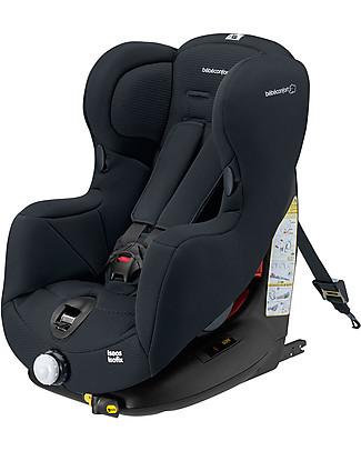 Bébé Confort Seggiolino Auto Iséos Isofix, Nero – da 9 mesi a 4 anni, Molteplice Installazione  Seggiolini Auto