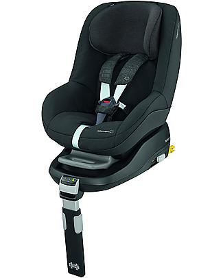 Bébé Confort Seggiolino Auto Pearl, Nomad Black - Da 9 mesi a 4 anni, Sicurezza e Comodità Seggiolini Auto