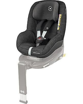 Bébé Confort Seggiolino Auto Pearl Pro i-Size, Nomad Black - Da 6 mesi a 4 anni, Omologato R129 Seggiolini Auto Bimbi Piccoli