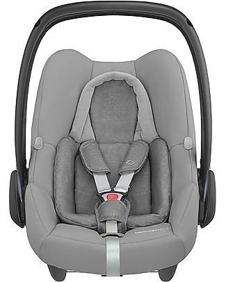 Bébé Confort Seggiolino Auto Rock 0+ e i-Size, Nomad Grey - Da 0 a 12 Mesi Seggiolini Auto per Neonati