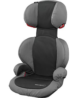 Bébé Confort Seggiolino Auto Rodi SPS Gruppo 2/3, Slate Black - Da 3,5 a 12 anni, Omologato ECE R44/04 Seggiolini Auto Bimbi Grandi