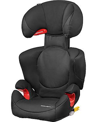 Bébé Confort Seggiolino Auto Rodi Xp Fix Gruppo 2/3, Night Black - Da 3,5 a 12 anni, Massima Protezione Seggiolini Auto Bimbi Grandi