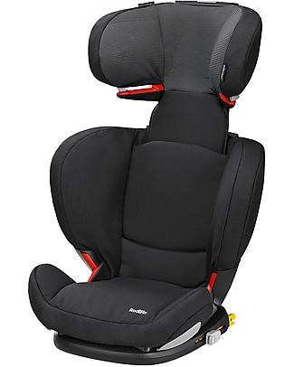 Bébé Confort Seggiolino Auto RodiFix AirProtect, Gruppi 2/3, Nero Corvino – da 3,5 a 12 anni! Seggiolini Auto