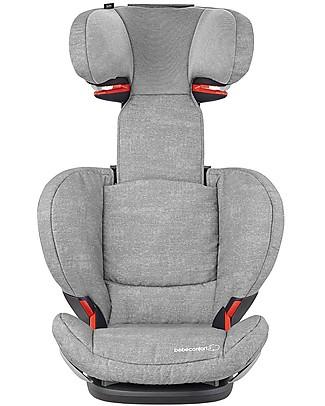 Bébé Confort Seggiolino Auto RodiFix Airprotect, Gruppi 2-3, Nomad Grey - Da 3,5 a 12 anni! Seggiolini Auto