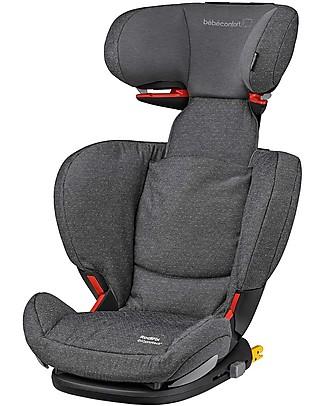 Bébé Confort Seggiolino Auto RodiFix Airprotect, Sparkling Grey - Da 3,5 a 12 anni, Side Protection System Seggiolini Auto