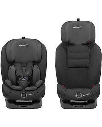 Bébé Confort Seggiolino Auto Titan Isofix Gruppo 1/2/3, Nomad Black - Da 9 mesi a 12 anni Seggiolini Auto Bimbi Piccoli