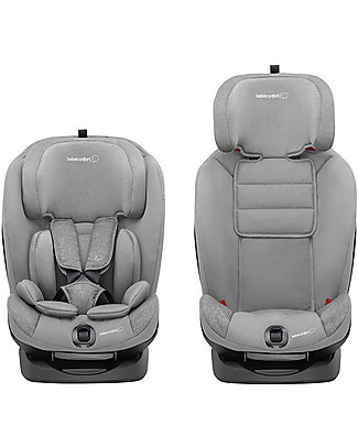 Bébé Confort Seggiolino Auto Titan Isofix Gruppo 1/2/3, Nomad Grey - Da 9 mesi a 12 anni Seggiolini Auto Bimbi Piccoli