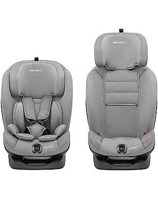 Bébé Confort Seggiolino Auto Titan, Nomad Grey - Da 9 mesi a 12 anni, Multi-gruppo Seggiolini Auto