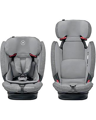 Bébé Confort Seggiolino Auto Titan Pro Isofix Gruppo 1/2/3, Nomad Grey - Da 9 mesi a 12 anni Seggiolini Auto Bimbi Piccoli